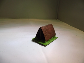 28 mm warhammer scale - accessories - tent