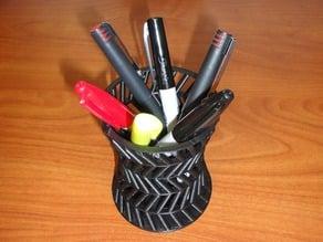 Hyperboloid Pencil Jar