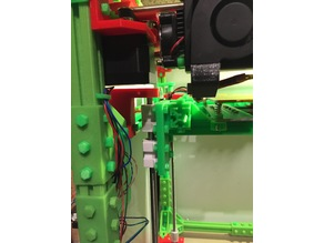 Z Rod Axis Adapter for the Anet Evolution