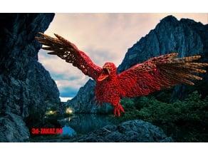 Bird design Voronoi, remix