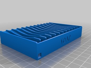 Customizable self draining soap dish v. 2