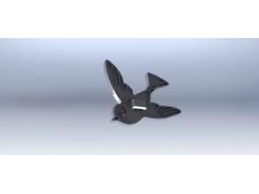 Bird Themed Zip Tie Clip