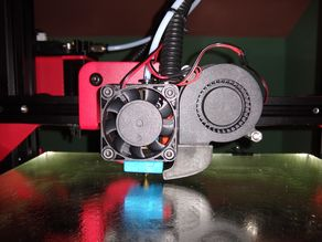 Alfawise U30 U20 fan duct turbine 5015 + fan 40mm support mount holder v3
