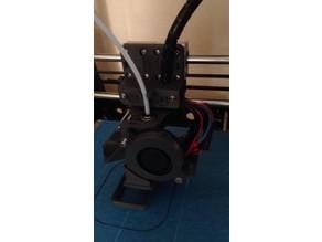 Anet A8 e3d v6 Bowden Print Carriage cooling duct remix (Remix)