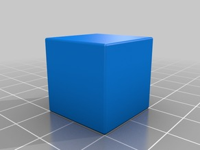 20mm Calibration Cube