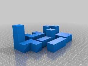 6 Peice Puzzle Cube