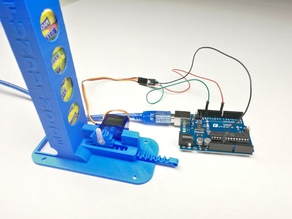 Automatic Maoam candy dispenser with servo - Arduino controlled