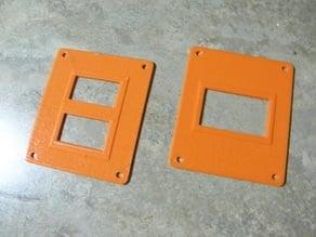 Single & Dual Voltage Meter Display Plate