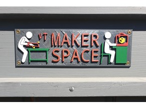 Sign Maker Space