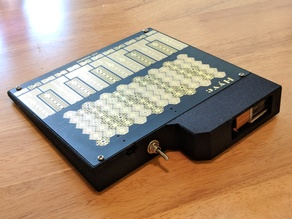Case for Hyve Touch Synth with battery holder