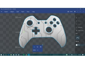 Electronic Pattern Xbox One Controller Faceplate