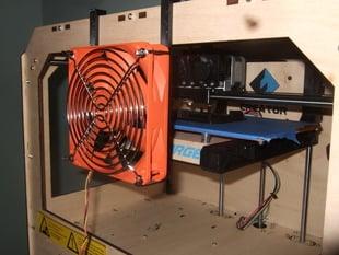 120 mm fan mount for FlashForge Creator