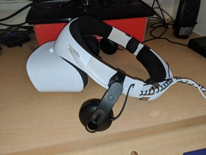 Vive Deluxe Audio x Dell Visor Adapter