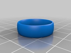 My Customized Comfort fit ring customizer - ISO metric version