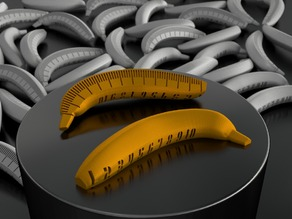 Banana with Scale