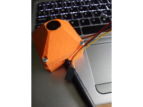 FPV combo - case for CCD board cam & 5.8GHz Tx