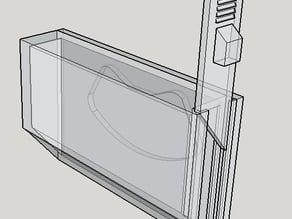 Car key magnetic holder box using (hard disk driveHDD magnet)