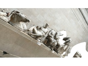 Elgin Marbles: East Pediment Section