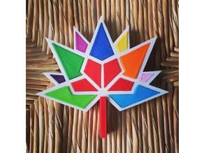 Canada 150 Logo in 3D