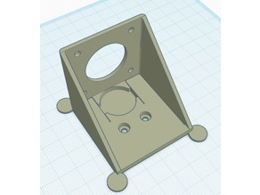 Beta Precision Piezo/Moriquendi E3D Titan and Titan Aero Piezo Z probe Bracket