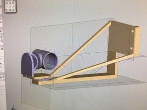 Z Axis Webcam Mount - Adjustable