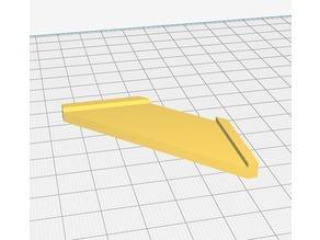 Glass 45° Corner Cutting Guide