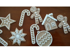 christmas (cookie) ornaments