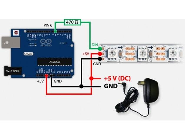 Arduino Bluetooth Controlled RGB light by hoseinporazar