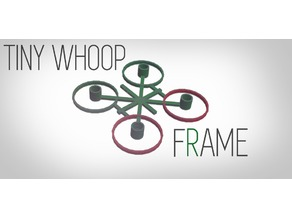 ULTRA LIGHT tinywhoop frame