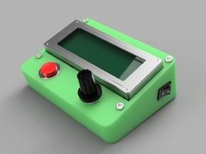 PanelMax case to Mendel90 LCD 4x20