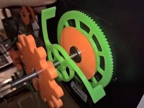 Filament spool backlash remover