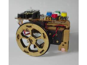 Escornabot Brivoi en corte laser V3.0