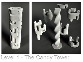 Puzzle - The Candy Tower - Level 1