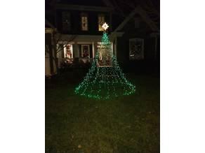 Exterior Christmas Star