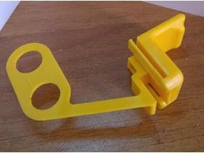 UM2 - Magnetic Door Handle + Filament Collector + Frontal Door