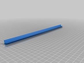 LED stripe holder for Tronxy X5SA