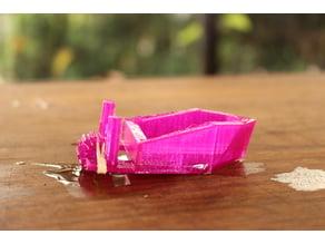 Barco de papel con propelas (Boat Deco only)