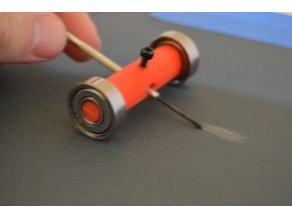 Screwdriver sharpening tool