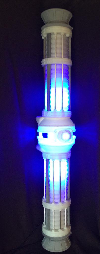 Star Trek Style Warp Core - Over 4 feet tall by twuelfing - Thingiverse