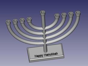 Hanukkah lamp - Menorah