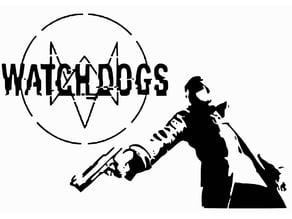 Watch Dogs stencil