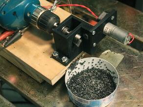 3D Filament Pelletizer Powered by Drill