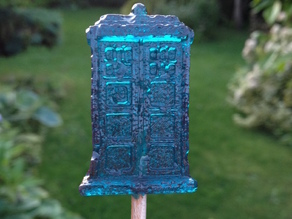 Tardis Candy Mold