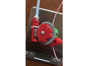 LEGO gear flex shaft extruder