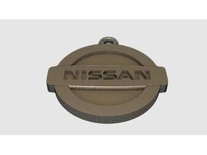 Nissan Logo Key Fob