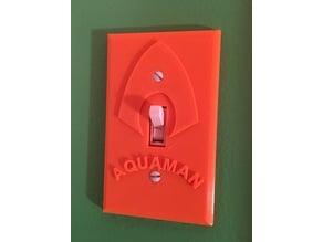 Aquaman Light Switch