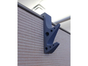 Cubicle coat hanger