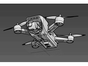 Sprank Drone (race drone with cam gimbal)