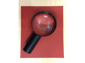 Magnifying Glass Lens Holder