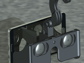 VR quick headset for samsung galaxy note 3 ( probably work with other larger phones aswell )